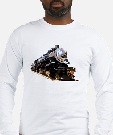 Cute Train locomotive Long Sleeve T-Shirt