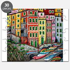Colours of Riomaggiore Puzzle