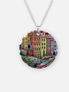 Colours of Riomaggiore Necklace