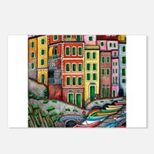 Colours of Riomaggiore Postcards (Package of 8)