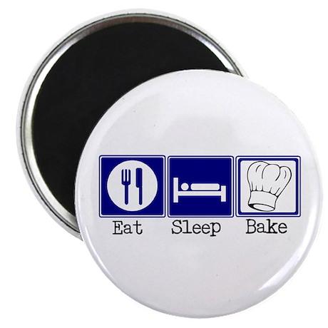 Eat, Sleep, Baking Magnet