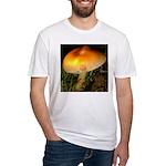 Golden Umbrella Fitted T-Shirt