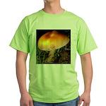 Golden Umbrella Green T-Shirt