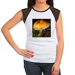 Golden Umbrella Women's Cap Sleeve T-Shirt