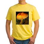 Golden Umbrella Yellow T-Shirt