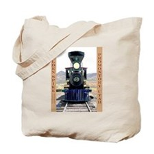 Golden Spike National Monument Tote Bag