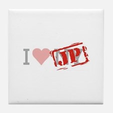 I Love NY/JP Tile Coaster