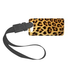 Funny Leather Luggage Tag