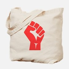 Red Power Fist Tote Bag