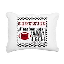 Certified Mississippian Rectangular Canvas Pillow