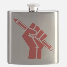 Red Writer Power Flask