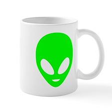 Neon Green Alien Mugs