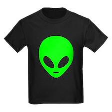 Neon Green Alien T-Shirt