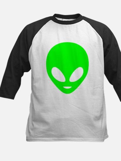 Neon Green Alien Baseball Jersey