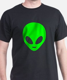Neon Green Alien T-Shirt