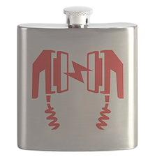 Red Defibrillator Flask