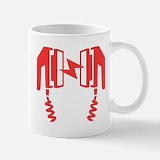 Red Defibrillator Mugs