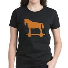 Orange Trojan Horse T-Shirt