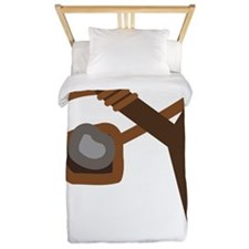 Slingshot With Stone Twin Duvet