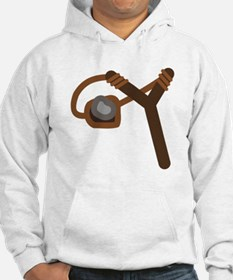 Slingshot With Stone Hoodie