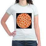 Spongy Cap Mushroom 20X Jr. Ringer T-Shirt