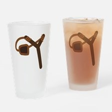Empty Slingshot Drinking Glass