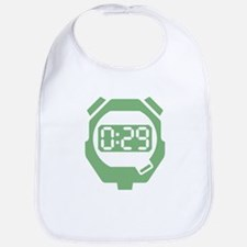 Green Stop Watch Bib