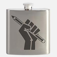 Writer Power Flask