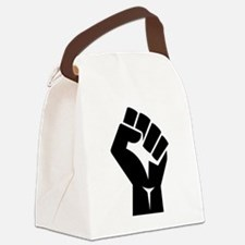 Power Fist Canvas Lunch Bag