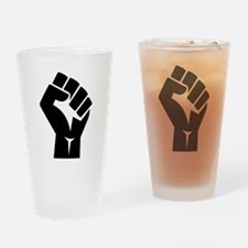 Power Fist Drinking Glass