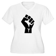 Power Fist Plus Size T-Shirt