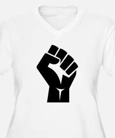 Power Fist Plus Size T-Shirt
