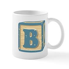 Block Letter B Mugs