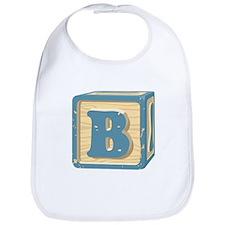 Block Letter B Bib