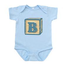 Block Letter B Body Suit