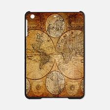 voyage compass vintage world map iPad Mini Case