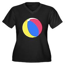 Beach Ball Plus Size T-Shirt
