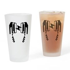Defibrillator Drinking Glass