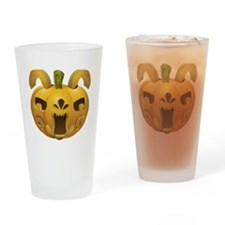 Rabbit Jackolantern Drinking Glass