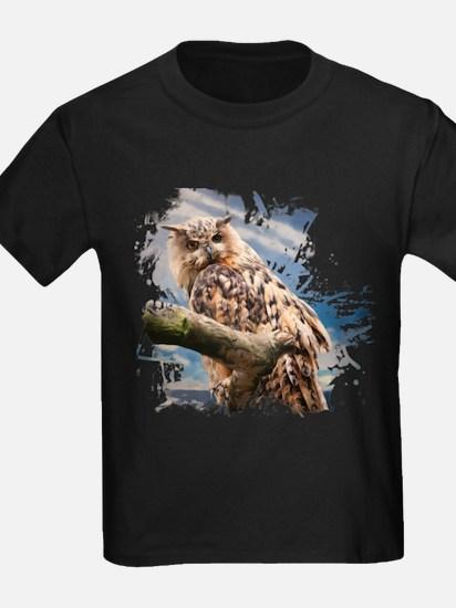 Painting Owl T-Shirt