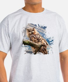 Painting Owl T-Shirt