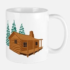 Cabin In The Woods Mugs