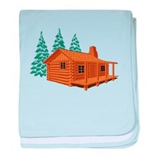 Cabin In The Woods baby blanket