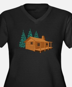 Cabin In The Woods Plus Size T-Shirt