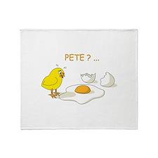 Pete Throw Blanket