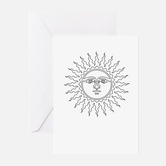 Sol -- The Sun Greeting Cards (Pk of 10)