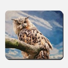 Painting Owl Mousepad