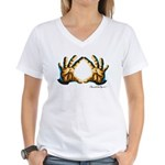 Diamond Cutter Logo Women's V-Neck T-Shirt