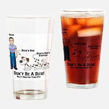 Unique Spay neuter adopt Drinking Glass