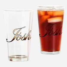 Gold Josh Drinking Glass